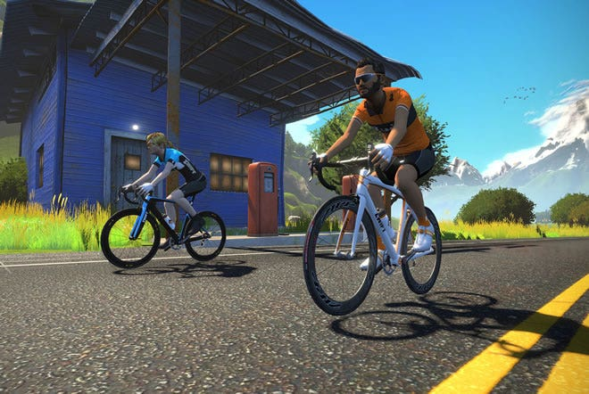 Zwift Cycling App with KICKR Smart Trainer | Wahoo Fitness AU